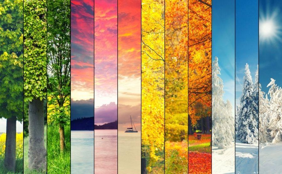 فصل های سال به آلمانی